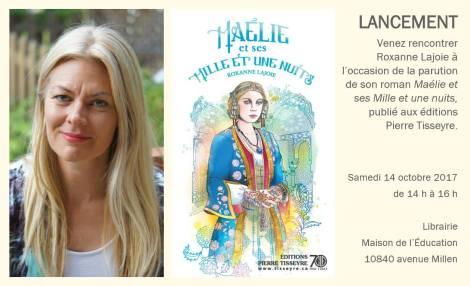 lancement Roxanne Lajoie